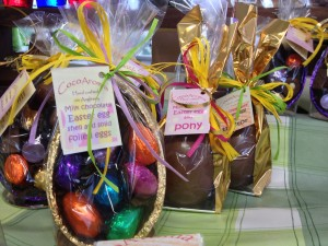 Handmade Easter Eggs at Hooton's Farm Shop