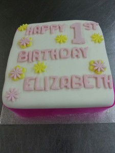 Celebration Cakes Anglesey